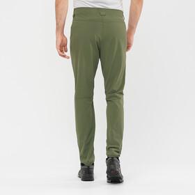 Salomon Wayfarer Tapered Pants Men, olive night